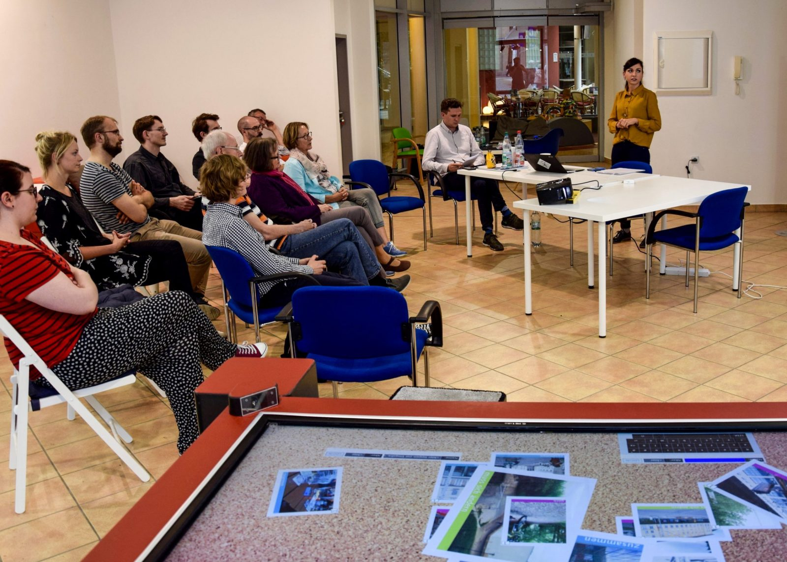 Vortrag Leipziger Löwen im Living Lab