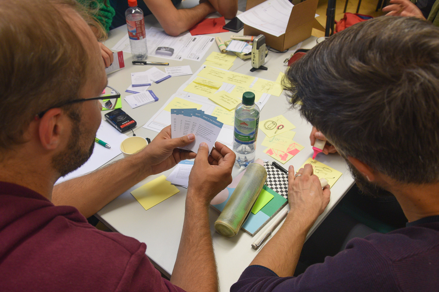 An international hands-on approach to Ideation