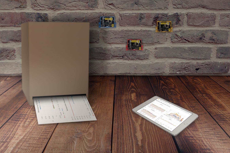 Printing IoT Sensor Data