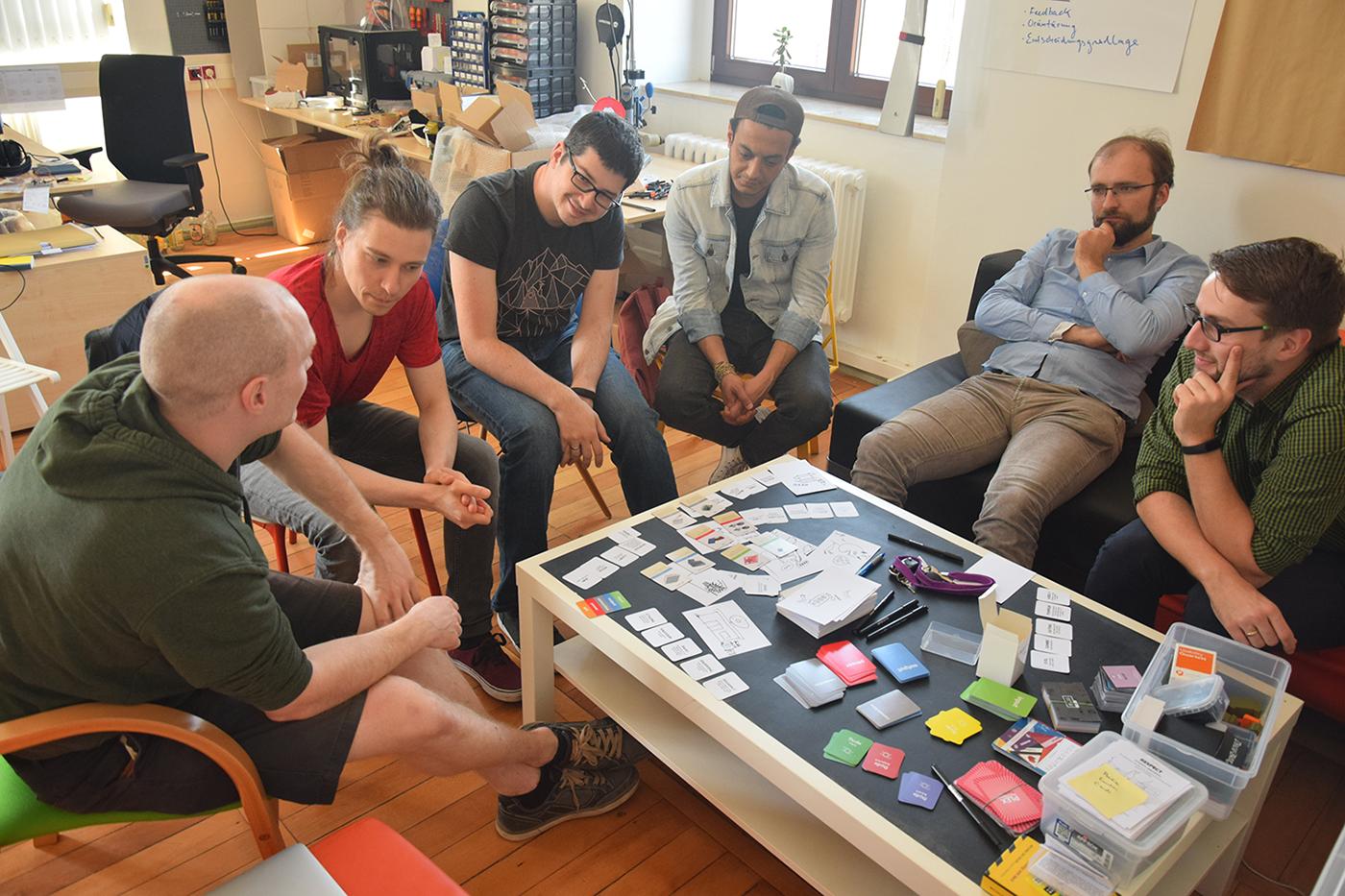 Ausprobieren der Ideation Tools zum IoT Day Germany 2018