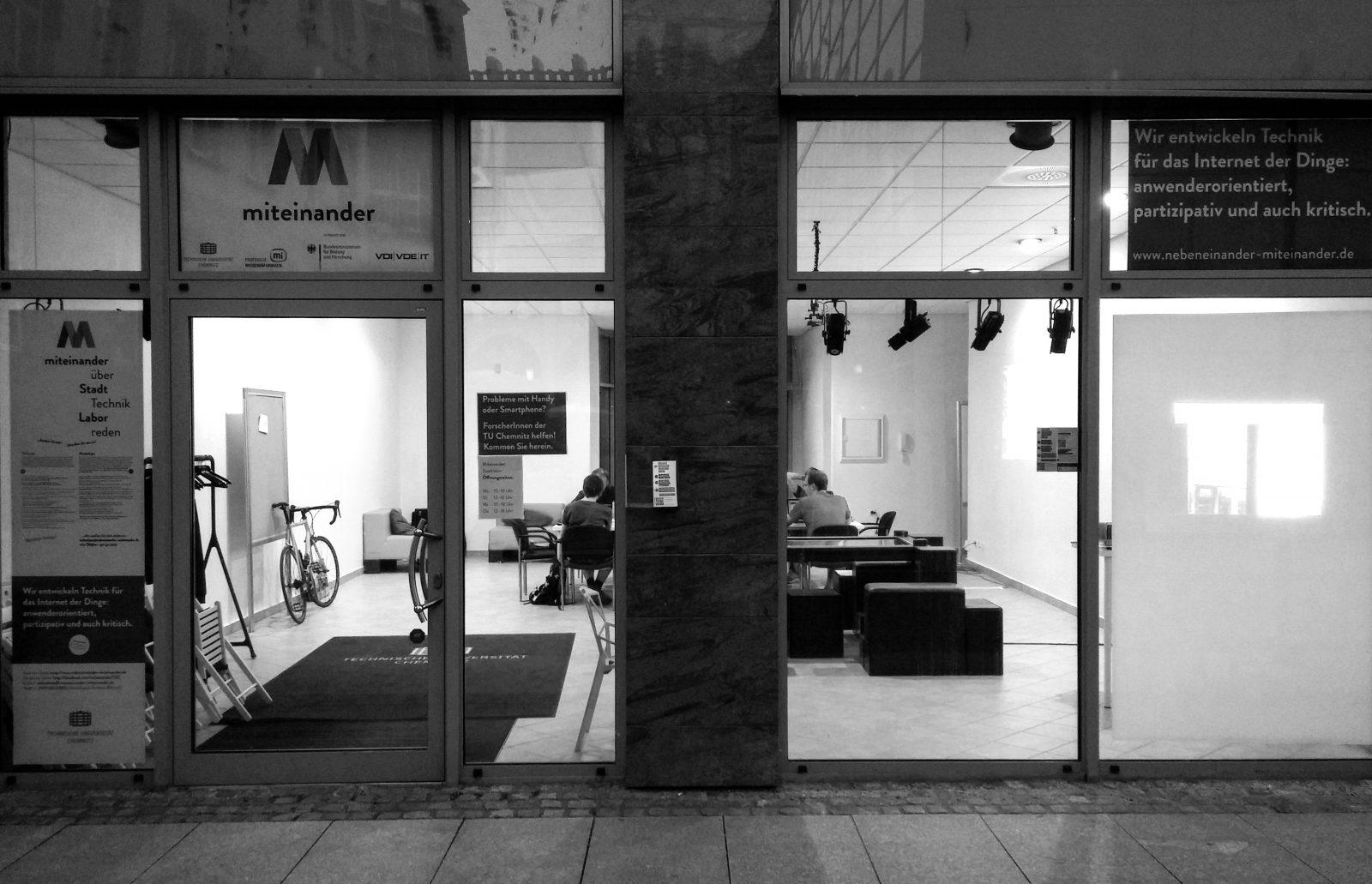 Eingang zum Living Lab